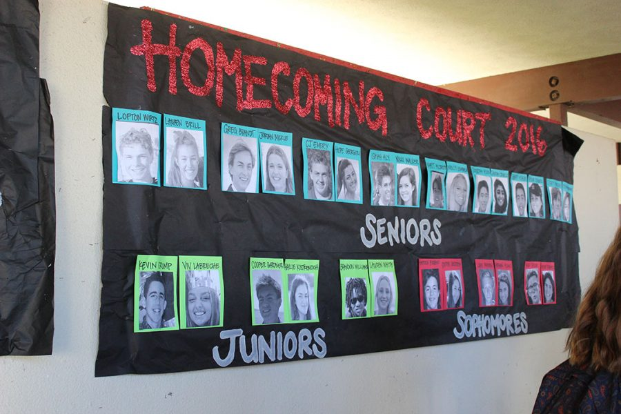 Homecoming Court Announced