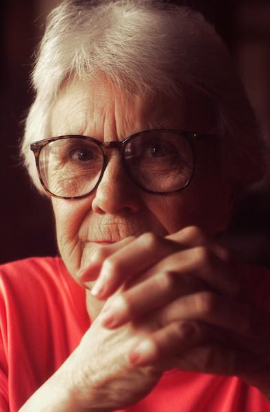 Author Harper Lee, who wrote