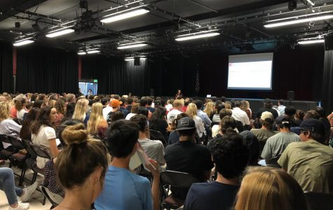 On August 29, PVHS students and parents attended College Knowledge Night, an event organized by the College and Career Center. This night was packed with over a hundred students and parents.