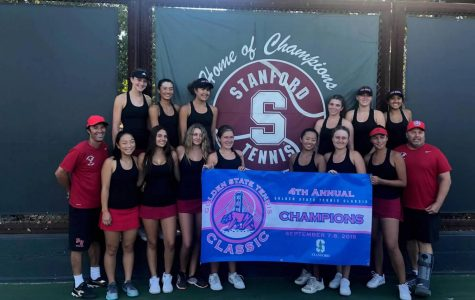 Girls' Tennis Wins Stanford Tournament