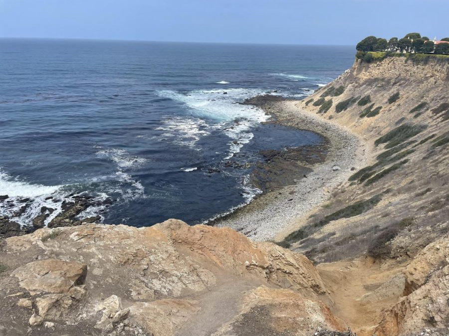 Honeymoon Cove at Paseo del Mar is a beautiful trail which leads to the ocean. (Photo by Alexa Dox)