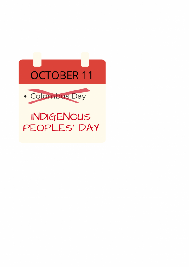 Out with Columbus Day; In with Indigenous Peoples' Day